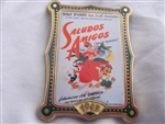 Disney Trading Pin 9027 12 Months of Magic - Movie Poster (Saludos Amigos)