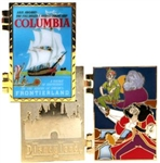 Disney Trading Pin DLR - Attraction Posters - Columbia