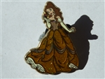 Disney Trading Pin 93360: Princess Belle Glitter Dress (Beauty and the Beast)