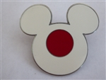 Disney Trading Pin 957: Epcot World Showcase - Mickey Head & Ears (Japan)