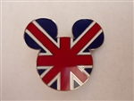 Disney Trading Pin 959: Epcot World Showcase - Mickey Head & Ears (United Kingdom)