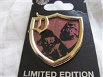 Disney Trading Pins 97378: DLR- Surprise Pin Series - Crest Collection –Dopey and Grumpy