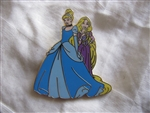 Disney Trading Pin 99025: New Fantasyland Once Upon A Time Rapunzel & Cinderella