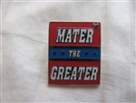 Disney Trading Pin 99914: DLR - 2014 Hidden Mickey Series - Mater's Junkyard Jamboree Signs - Mater The Greater
