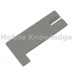 LT GREY BATT COVER NO LATCH
