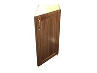 1 door 45 degree transition cabinet