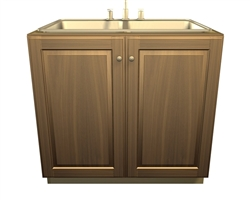 2 door SINK base cabinet