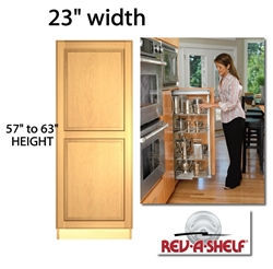 "Pullout Pantry Cabinet 23"" wide (5750 series)"