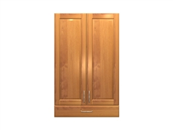 2 door wall cabinet with one drawer