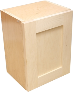Sample Cabinet with Shaker Door (Paint Grade: frame=MAPLE, panel=MAPLE)