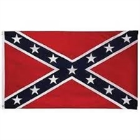 3'x5' Confederate flag, rebel flag, stars and bars flag