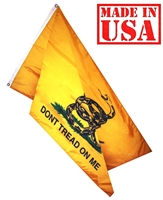 4' x 6'  Gadsden Flag, DON'T TREAD ON ME, Nylon