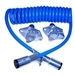 Blue Ox 6' 4-Wire Coiled Electrical Cable | BX8861