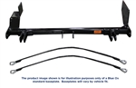 Hummer H3 (Works with factory brush guard option) '06-'10 | Blue Ox Tow Bar Baseplate | BX4104