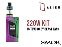 Smok Alien Kit FULL Rainbow - 220W Mod Kit