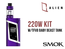 Smok Alien Kit Purple - 220W Mod Kit