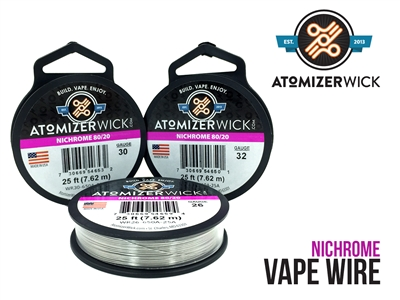 AtomizerWick NiChrome 80/20 Wire