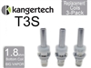 Kanger T3S Botton Coil 3 Pack 1.8 ohm