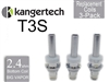 Kanger T3S Botton Coil 3 Pack 2.4 ohm
