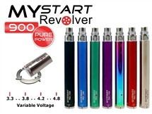 Mystart-Revolver-900mah Variable Voltage eGo 900mAh Battery