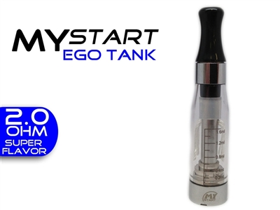 Vision Tank  eGo 1.6ml-2.0 oHm Tank Clear