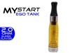 MyStart Tank  eGo 1.6ml-2.0 oHm Tank Clear