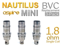 Nautilus BVC Replacement Coils 3-Pack