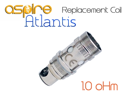 Aspire Atlantis Replacement Coils - 1.0 oHm