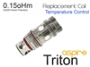 Aspire Triton Replacement Coil Temperature Control - 0.15 oHm