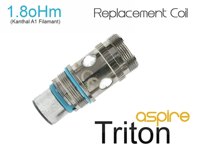Aspire Triton Replacement Coil - 1.8 oHm