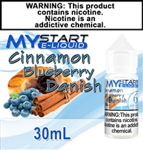 Cinnamon Blueberry Danish Flavor E-Liquid