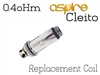 Aspire Cleito Replacement Coil - 0.4oHm