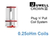 UWell Crown Coils - 0.25oHm
