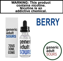 Generic Adult Sours - Berry (30mL)