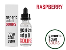 Generic Adult Sours - Raspberry (30mL)