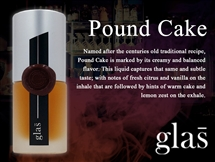 Glas E-Liquid - Pound Cake (15ml)