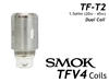 Smok TFV4 Coils - TFT2 Dual Coil Replacement Coils