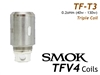 Smok TFV4 Coils - TFT3 Triple Coil Replacement Coils