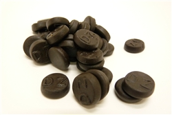 Dutch Liquorice Double Salt Rounds