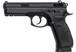 "CZ 75 SP-01 9MM 4.7"" BLK, RAIL, NIGHT SIGHTS"