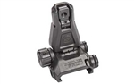 MAGPUL MBUS AR15 PRO REAR FLIP SIGHT BLK