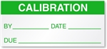 Calibration Label Sticker for use with Gas Monitors Detectors. Most durable calibration stickers for uses in ruff environments.