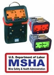 GfG MSHA Approved G450 Multigas Diffusion Detector H2S, CO, LEL & O2