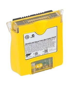 QT-BAT-R01 BW Technologies GasAlert Quattro Rechargeable Battery Pack Replacement by Honeywell Analytics.
