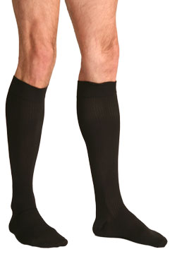 Silkies Men's Moderate Support Dress Socks (15-20 mmHg)