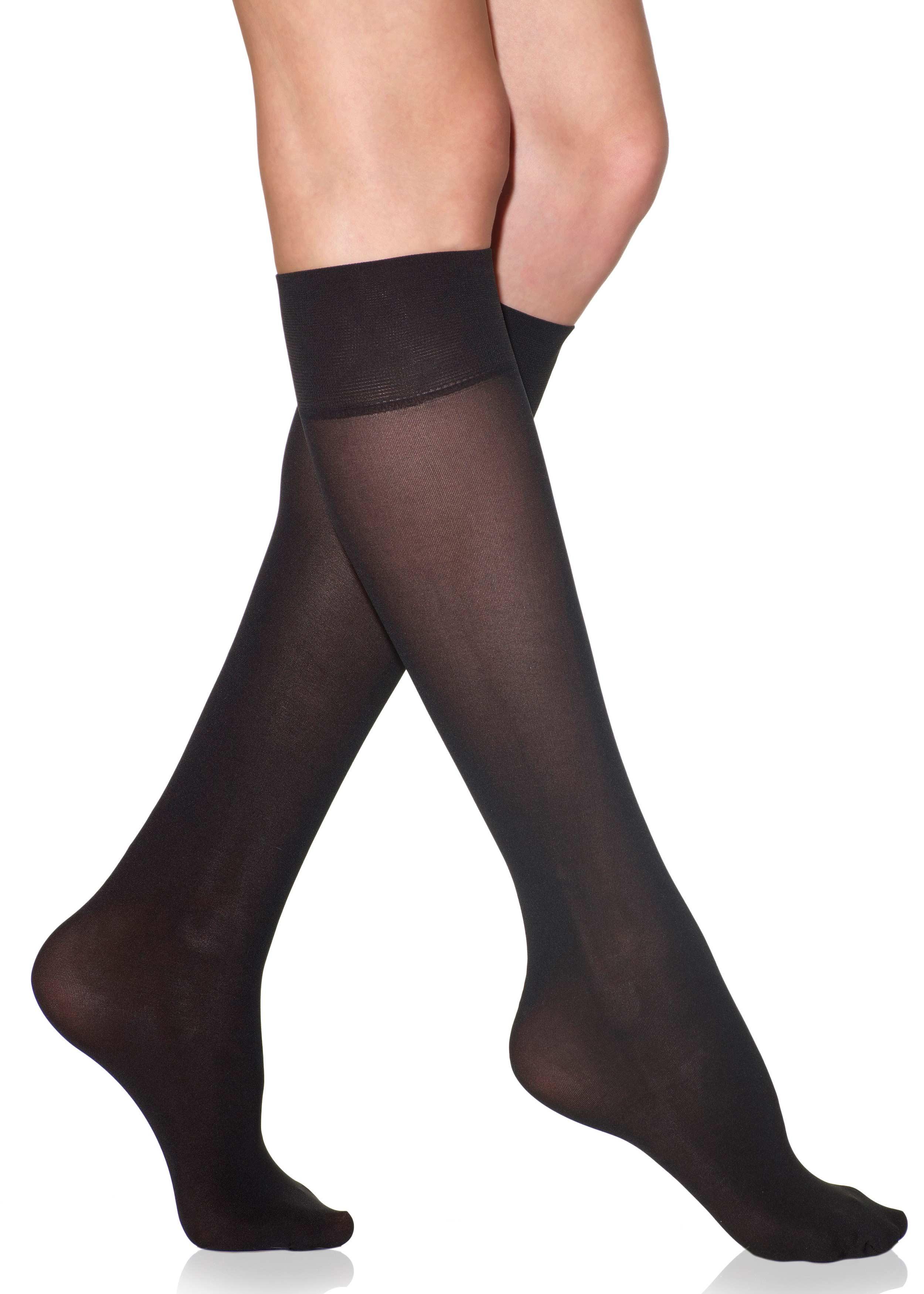 Silkies Microfiber Trouser Socks 2 Pack Knee Socks Womenu0026#39;s Legwear | Silkies.com