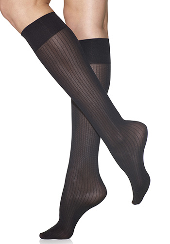 Silkies Classic Ribbed Trouser Socks (2-Pair Pack)