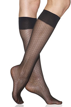 Silkies Honeycomb Sheer Trouser Socks (2-Pair Pack)