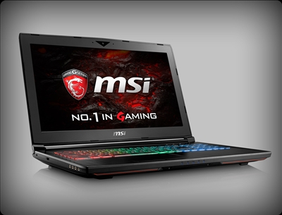MSI GT62VR Dominator Pro nVidia Pascal GTX 1070, 7th Gen Intel Kaby Lake Core i7
