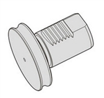 110-CAP40, TURRET CAP 4 SQT (same as 53618000600)